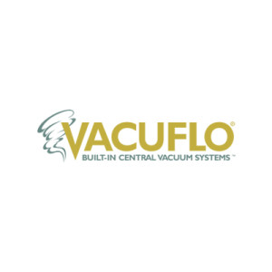 vacuflo central vacuum systems company logo