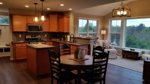 home kitchen ceiling and overhead lighting